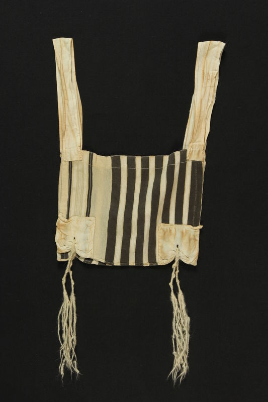 Tallit Katan found after Holocaust